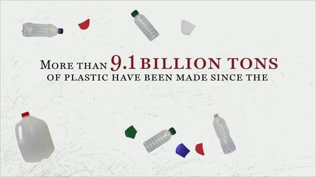 Over 9.1 Billion Tons of Plastic Have Been Produced and Most of it Thrown Away