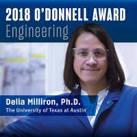 Delia J. Milliron, The Academy of Medicine, Engineering & Science of Texas