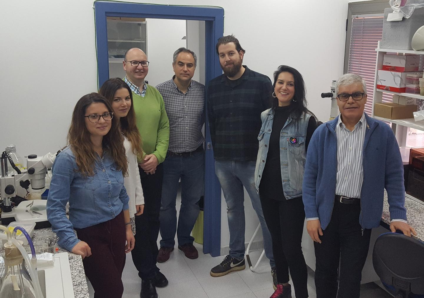 Scientists of the UEx Molecular Biology of Cancer Research Group
