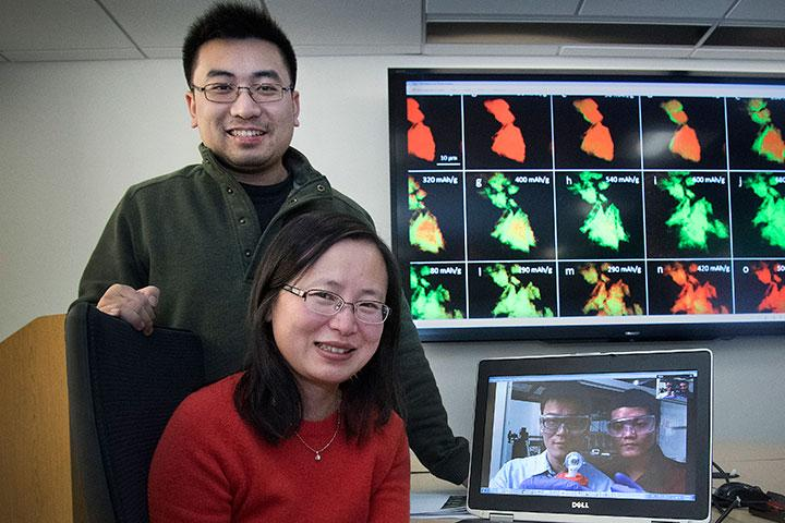 Iron Sulfide Battery X-Ray Microscopy Studies and Team Members