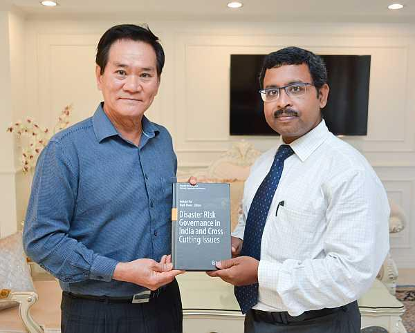 Book Release of Disaster Risk Governance in India and Cross Cutting Issues