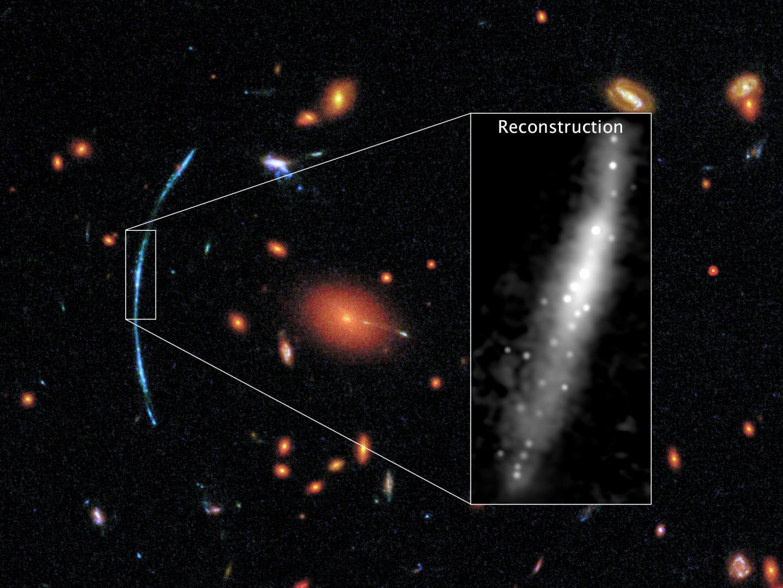 Lensed Galaxy