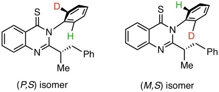 Isotopic Isomers