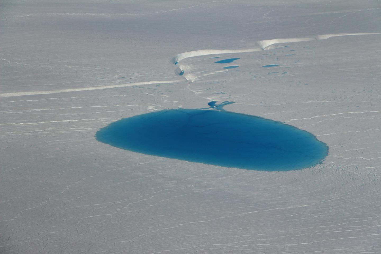 A Large Circular Sea