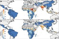 Prevalence of Wasting in Children under 5 in LMICs (2000-2017)