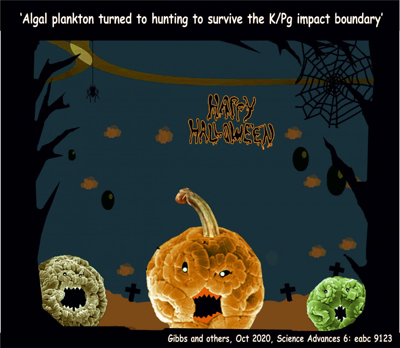 Algal plankton developed a spooky ability to survive