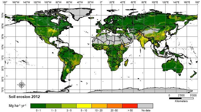 Soil Erosion 2012