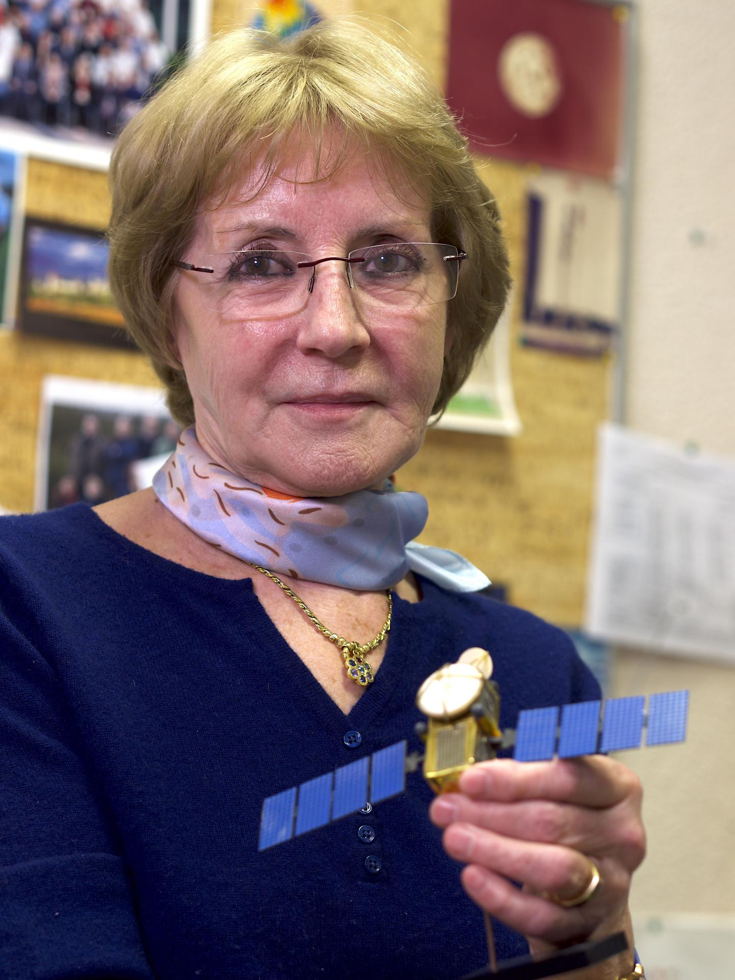 Anny Cazenave, Winner of the BBVA Frontiers of Knowledge Award in Climate Change