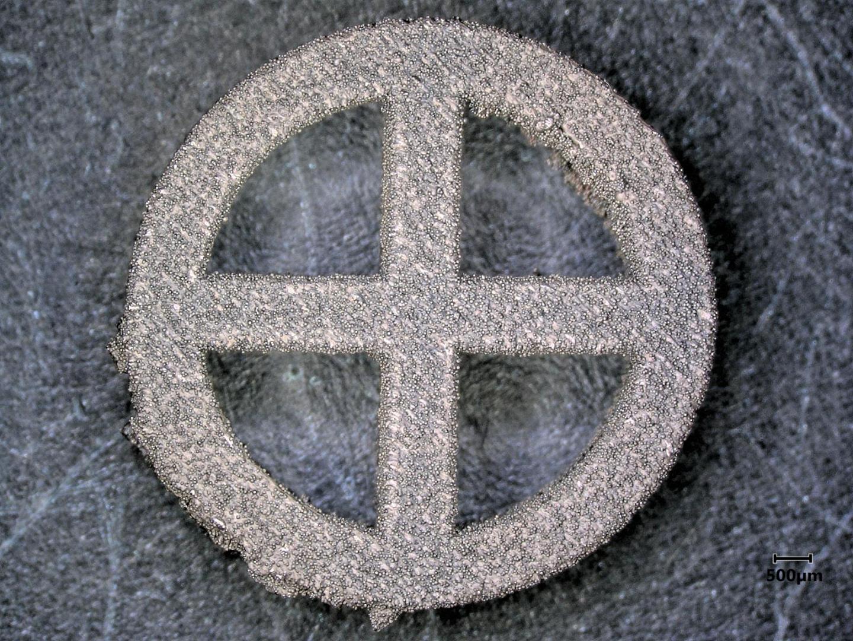 Diamond Coated 3-D Printed Titanium