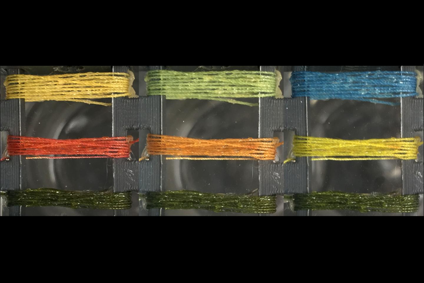 Smart Threads Detect Presence Of Gases