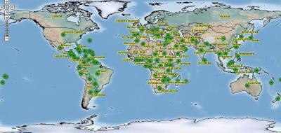 Citrus Tristeza Virus Map