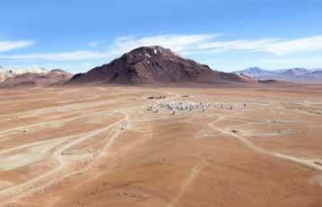 Cerro Chajnantor Peak in Chile