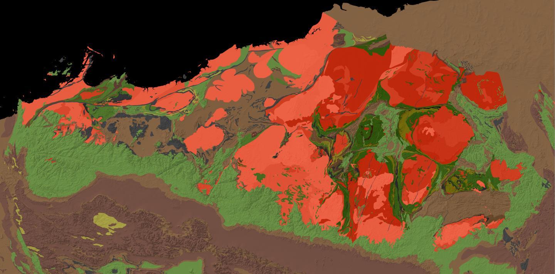 Geologic Map of the Pilbara Craton