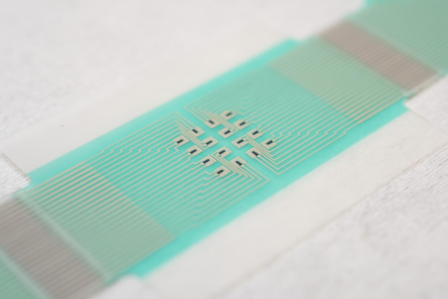 Bloodless Diabetes Monitor Patch Close Up