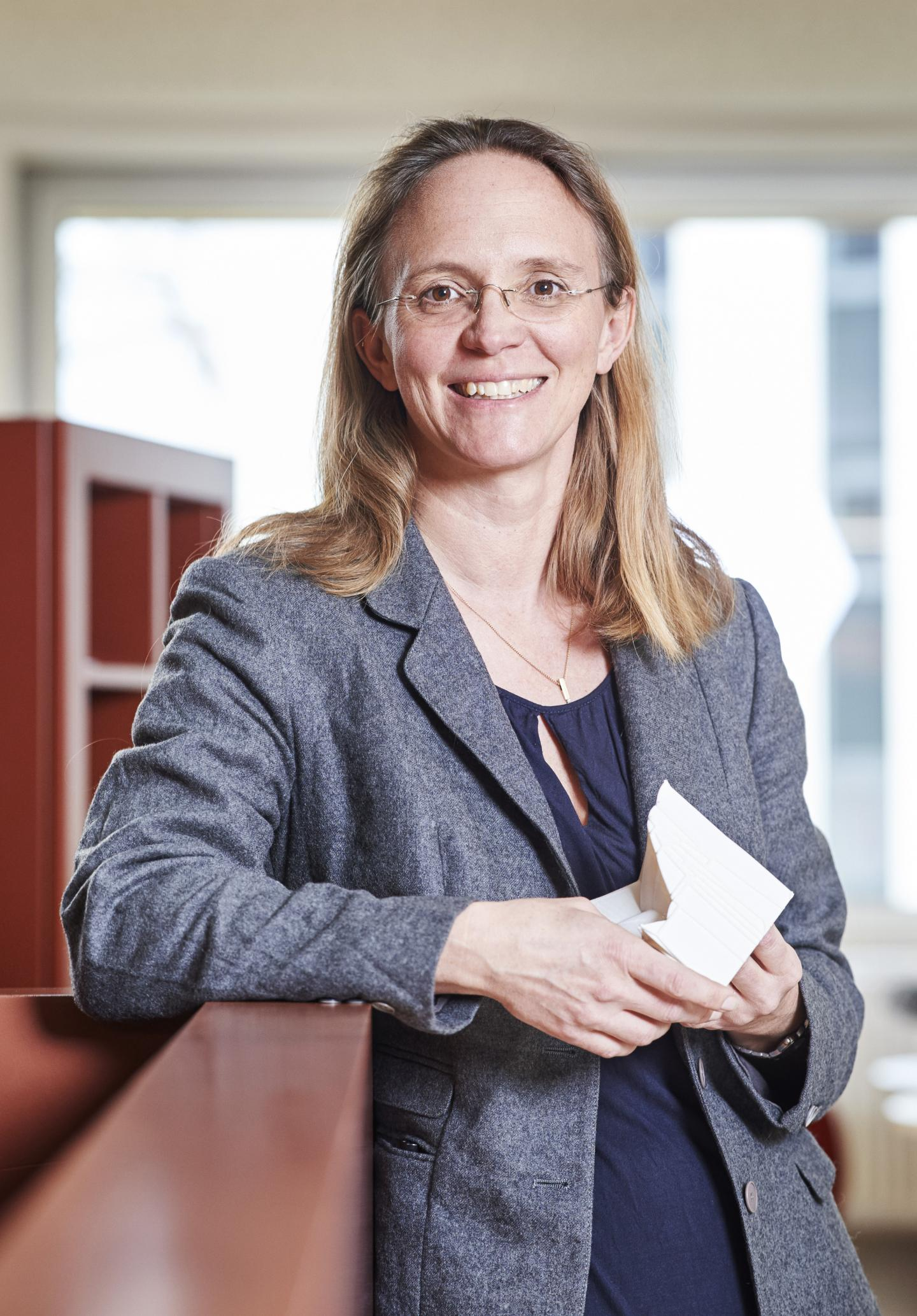 Britta Nestler, Professor for Micro-structure Simulations in Materials Technology at KIT