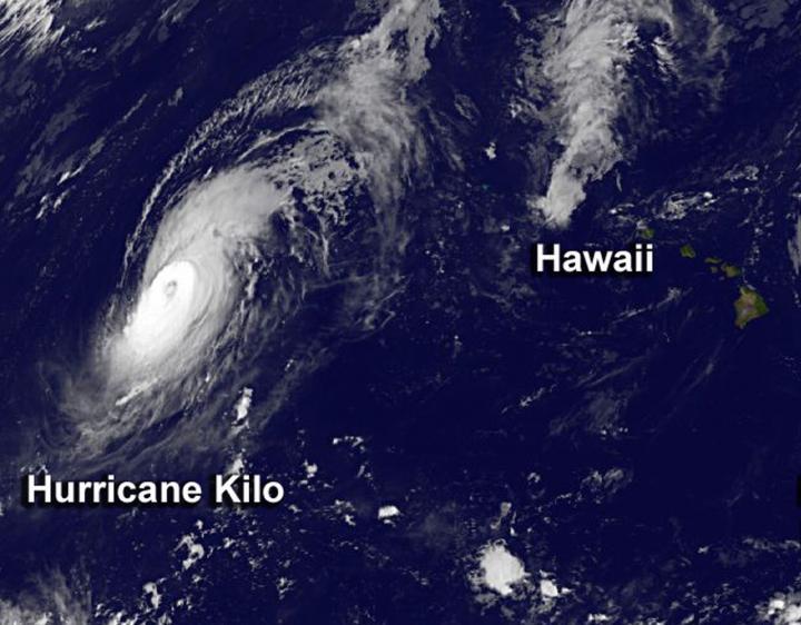 GOES-West Image of Kilo