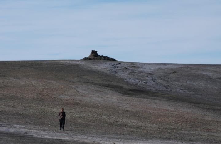 First Methane Mound