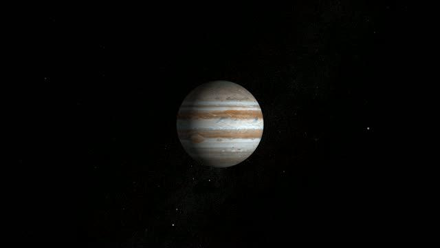 Video of Jupiter's Magnetic Field