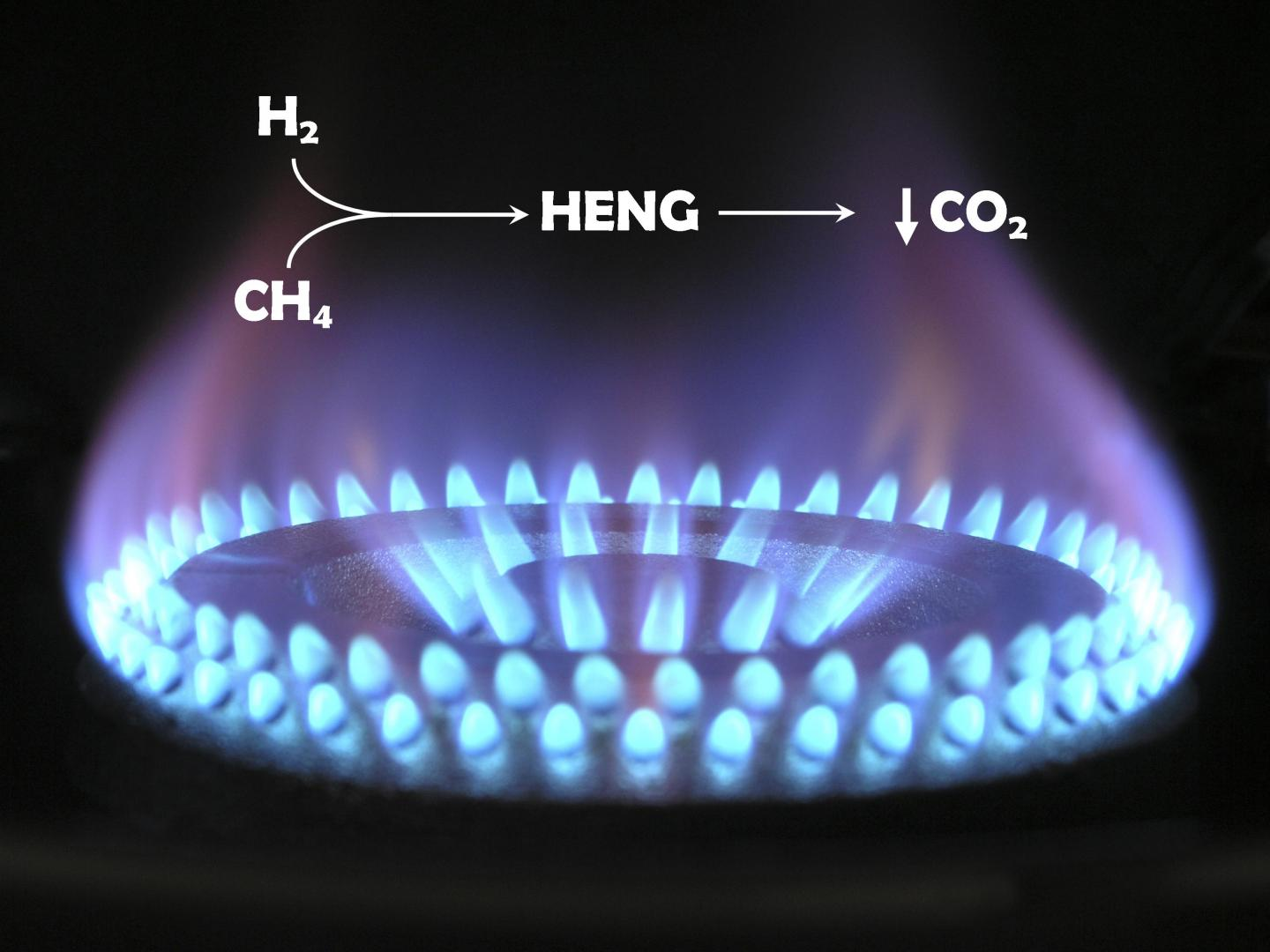 How Hydrogen-Enriched Natural Gas Can Cut Carbon Emissions