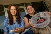 Lauren Theis and Lila Kerr, Rice University
