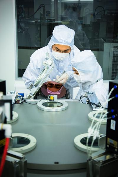 Researchers at NUS' Graphene Research Centre