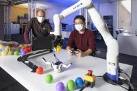 Learned robot manipulation