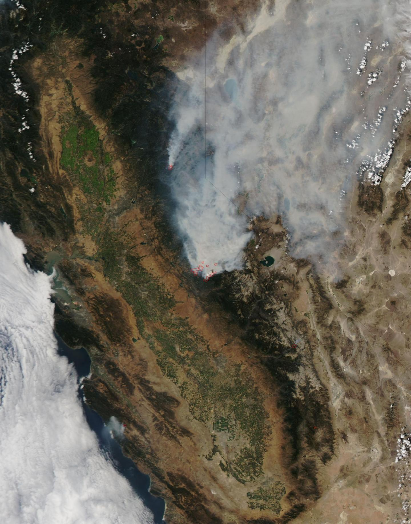 Fire from Space