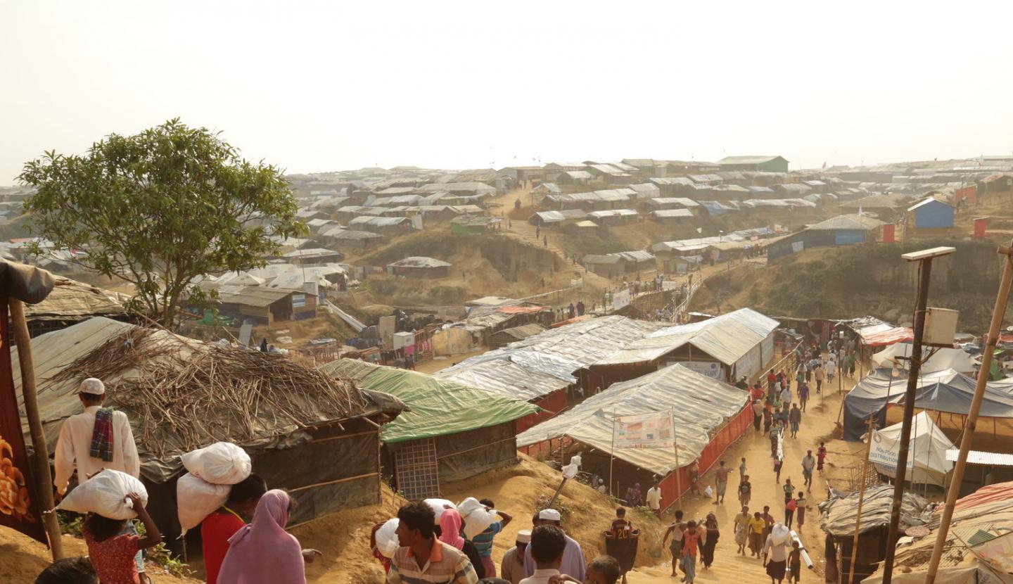 Refugee Camps Vulnerable to COVID-19 Outbreaks