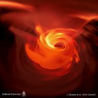 Researchers Have Created a Virtual Reality Simulation of a Supermassive Black Hole