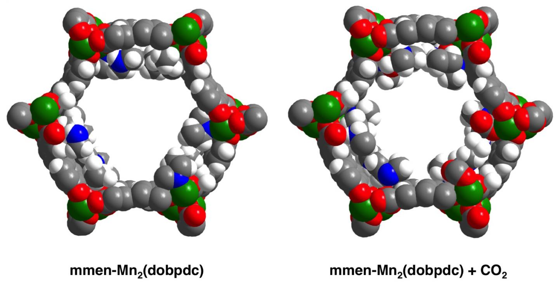 Diamine-Appended Metal-Organic Frameworks