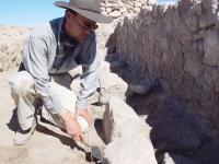 Excavating in Cerro Baul