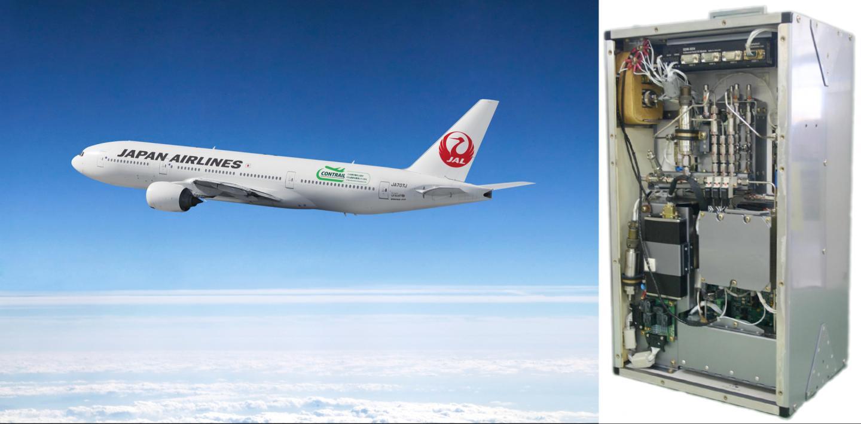 Aircraft Measuring CO2