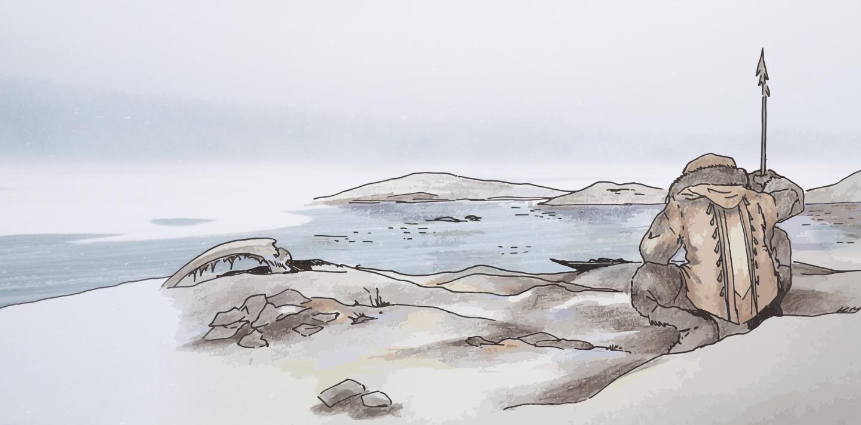 Illustration Fisherman