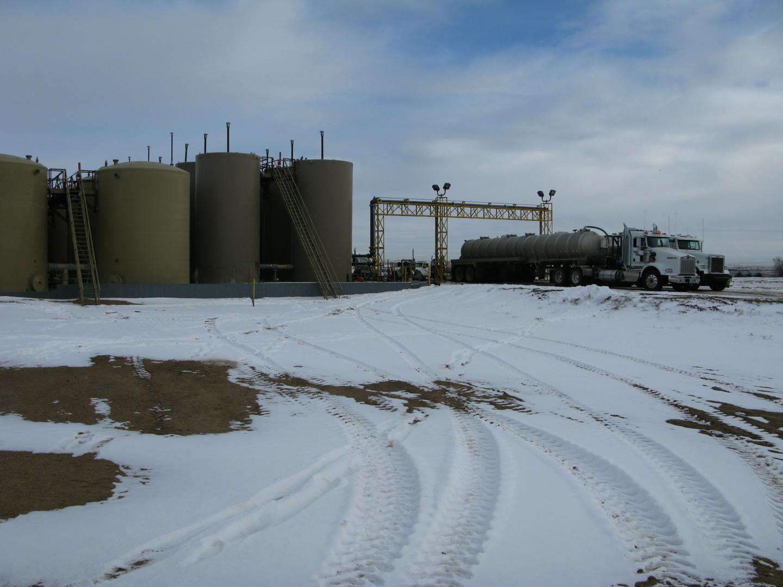 Salt Water Disposal Well, Colorado
