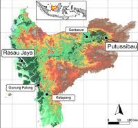 Borneo sample sites
