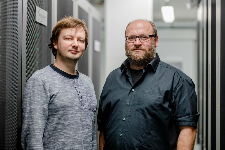The Successful Team Thomas Hammerschmidt (Left) and Yury Lysogorskiy