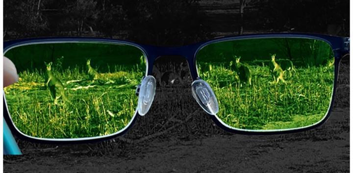 infrared imaging on standard glasses