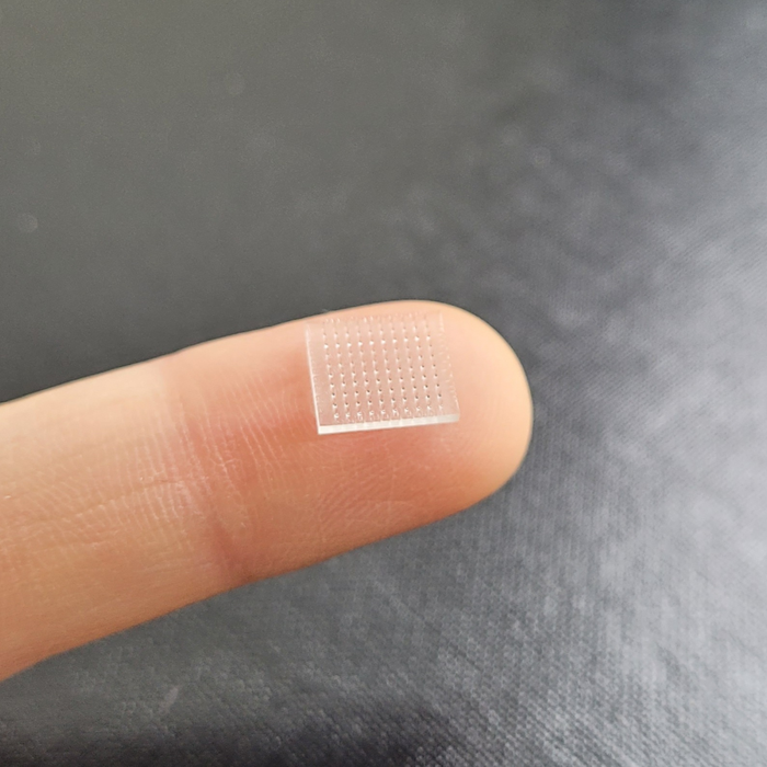 3D printed microneedle vaccine patch delivers vaccine