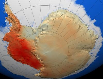 Warm Antarctica