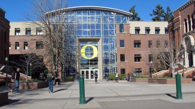 Lillis Hall, University of Oregon