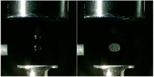 Levitating droplets allow scientists to perform 'touchless' chemical reactions