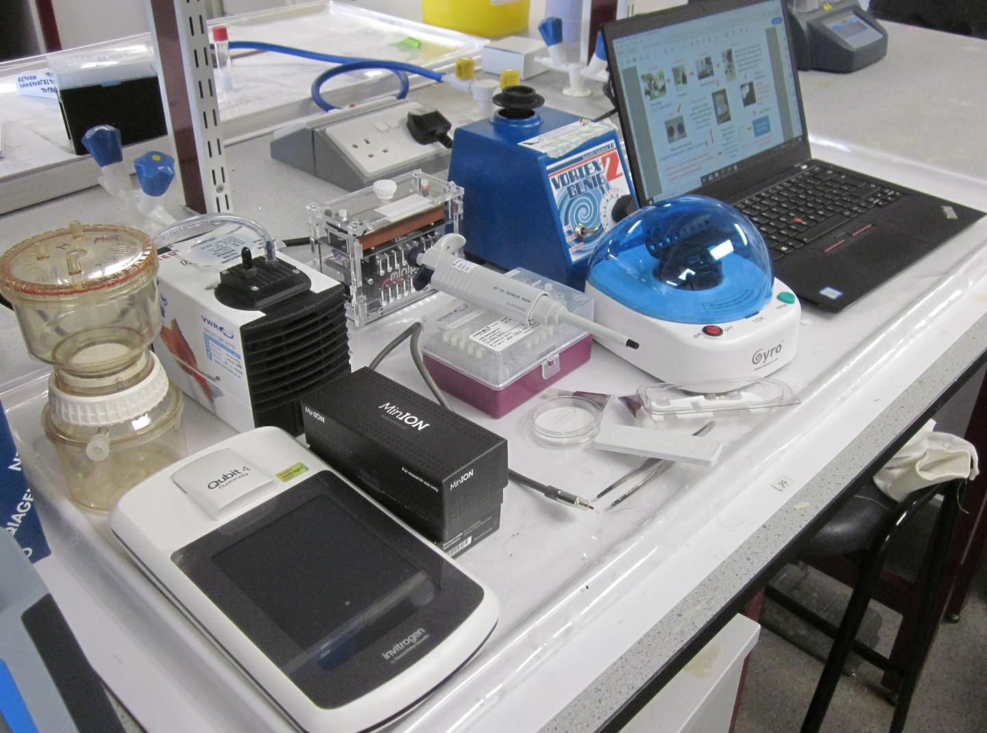 Experts Develop 'Lab in a Suitcase'