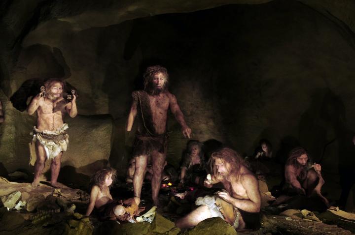 Neandertal Family