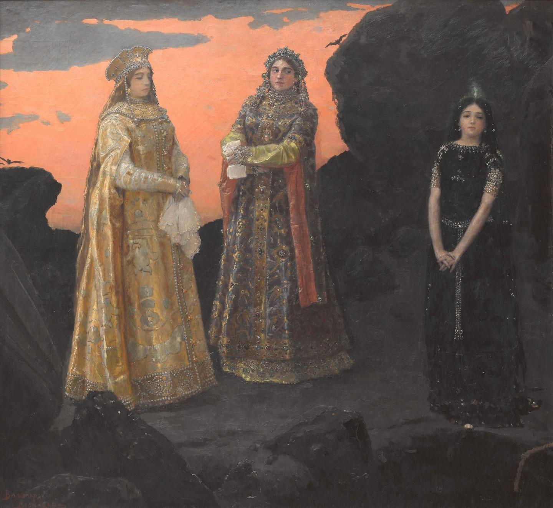 Three Czarevnas of Underground Kingdom (1879)