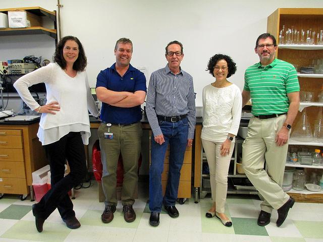 Drs. Jennifer Sullivan, Paul O'Connor, Clinton Webb, Adviye Ergul and Michael Brands