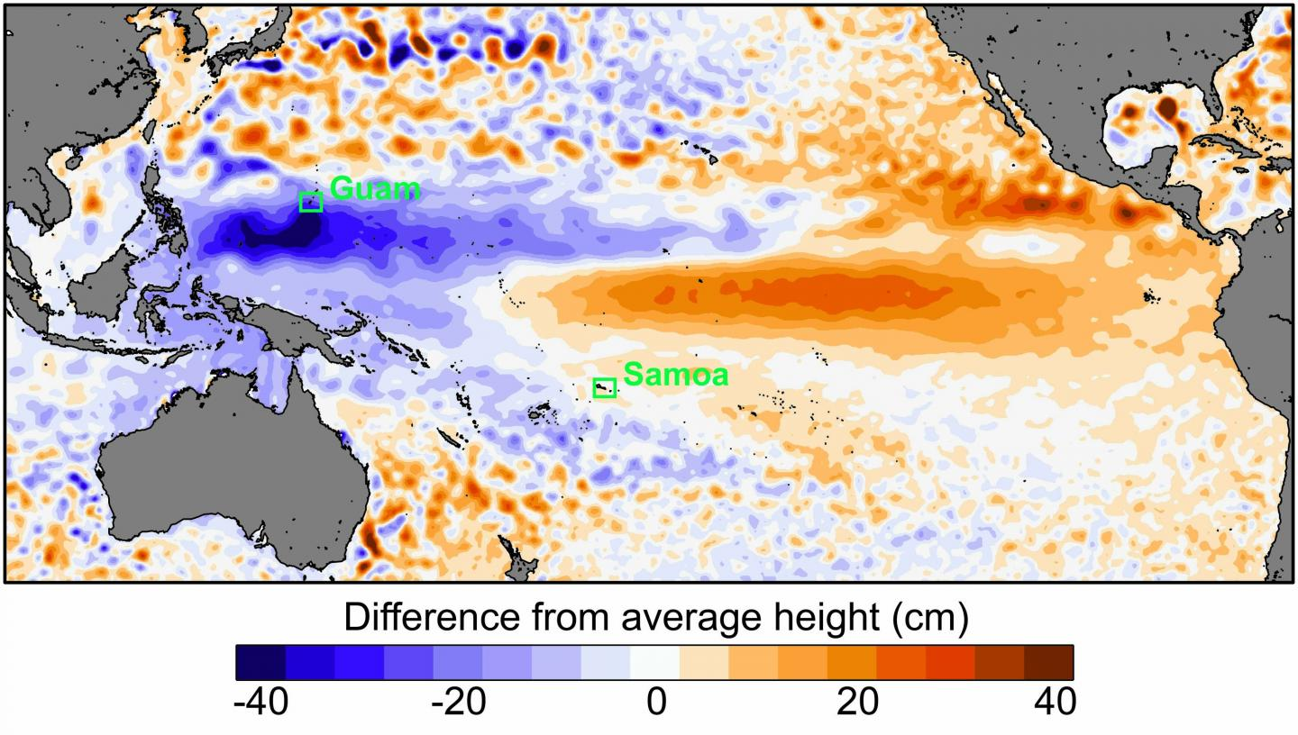 Sea Level Extremes across the Pacific Ocean
