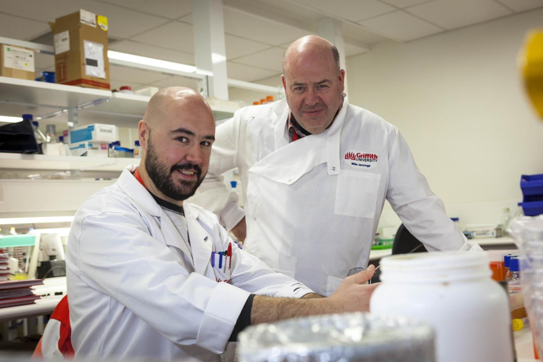 Michael Jennings and Dr John Atack
