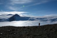 Field Site in Antarctica