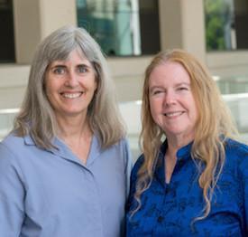 Jane Johnson and Melanie Cobb