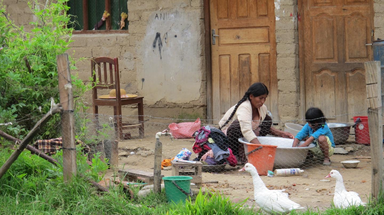 Rural Community in Bolivia